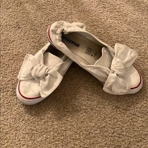 Converse slip on sneakers size 7